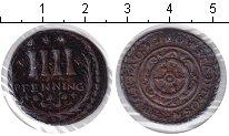 Изображение Монеты Оснабрук 4 пфеннига 1760 Медь XF