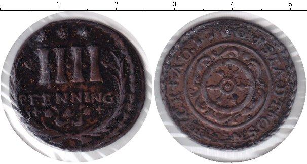 Картинка Монеты Оснабрук 4 пфеннига Медь 1760
