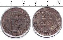 Изображение Монеты Вестфалия 20 сентим 1812 Серебро VF