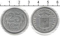 Изображение Монеты Франция 25 сентим 1922 Алюминий VF