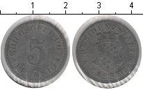 Изображение Монеты Германия : Нотгельды 5 пфеннигов 1917 Цинк VF