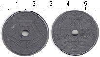 Изображение Монеты Бельгия 25 сентим 1943 Цинк XF