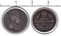 Изображение Монеты Канада 5 центов 1903 Серебро VF Эдвард VII