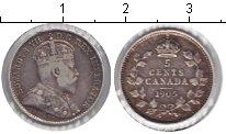 Изображение Монеты Канада 5 центов 1905 Серебро VF Эдвард VII