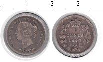 Изображение Монеты Канада 5 центов 1897 Серебро VF