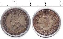 Изображение Монеты Канада 10 центов 1917 Серебро  Георг V