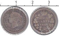 Изображение Монеты Канада 5 центов 1881 Серебро VF