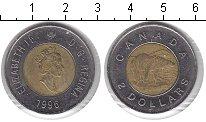 Изображение Монеты Канада 2 доллара 1996 Биметалл VF Белый медведь