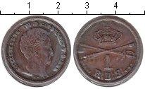 Изображение Монеты Дания 1 скиллинг 1842 Медь XF