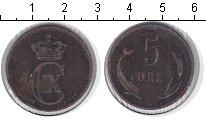 Изображение Монеты Дания 5 эре 1898 Медь XF