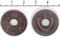 Изображение Монеты Уганда 1 цент 1909 Медно-никель VF