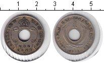 Изображение Монеты Уганда 1 цент 1911 Медно-никель XF