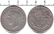 Изображение Монеты Канада 50 центов 1950 Серебро XF