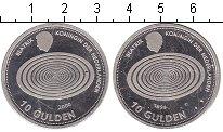 Изображение Монеты Нидерланды 10 гульденов 1999 Серебро UNC- Миллениум