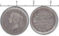 Изображение Монеты Канада 5 центов 1874 Серебро VF