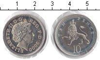 Изображение Монеты Великобритания 10 пенсов 2000 Медно-никель UNC-