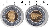 Изображение Монеты Канада 2 доллара 2008 Биметалл UNC-