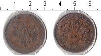 Изображение Монеты Канада 1 су 0 Медь