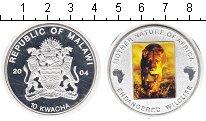 Изображение Монеты Малави 10 квач 2004 Медно-никель Proof
