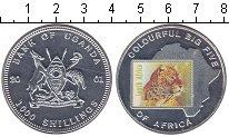 Изображение Монеты Уганда 1000 шиллингов 2001 Медно-никель Proof
