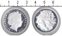 Изображение Монеты Австралия 20 центов 1998  Proof-
