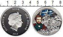 Изображение Монеты Ниуэ 1 доллар 2014 Серебро Proof