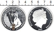 Изображение Монеты Соломоновы острова 10 долларов 2012 Серебро Proof