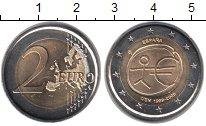 Изображение Монеты Испания 2 евро 2009 Биметалл XF 10 лет Экономическом