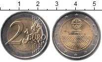 Изображение Мелочь Португалия 2 евро 2008 Биметалл UNC-