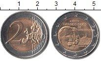 Изображение Монеты Люксембург 2 евро 2012 Биметалл UNC-