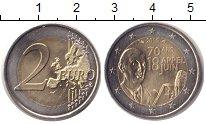 Изображение Монеты Франция 2 евро 2010 Биметалл UNC- 70 лет речи Шарля де