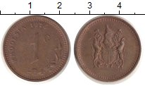 Изображение Монеты Родезия 1 цент 1976 Медь VF Герб