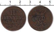 Изображение Монеты Пруссия 2 пфеннига 0 Медь