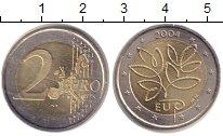 Изображение Монеты Финляндия 2 евро 2004 Биметалл UNC-