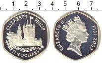 Изображение Монеты Фиджи 10 долларов 2007 Серебро Proof-