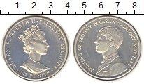 Изображение Монеты Фолклендские острова 50 пенсов 1985 Серебро Proof- Открытие аэропорта