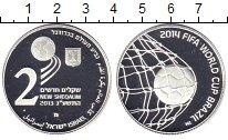 Изображение Монеты Израиль 2 шекеля 2013 Серебро Proof- Чемпионат мира по фу