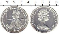Изображение Монеты Гибралтар 1 крона 1993 Серебро Proof-