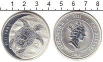 Изображение Монеты Фиджи 2 доллара 2011 Серебро UNC-