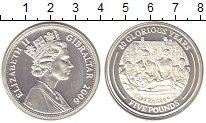 Изображение Монеты Гибралтар 5 фунтов 2006 Серебро Proof-