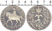 Изображение Монеты Великобритания 1 крона 1977 Серебро Proof-