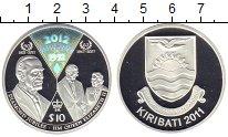 Изображение Монеты Кирибати 10 долларов 2011 Серебро Proof- Бриллиантовый юбилей