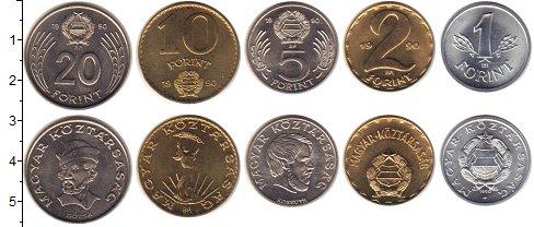 Изображение Наборы монет Венгрия Венгрия 1990 1990  UNC- В годовом наборе 5 м