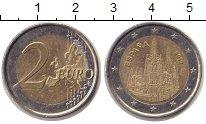 Изображение Монеты Испания 2 евро 2012 Биметалл XF