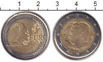 Изображение Монеты Испания 2 евро 2014 Биметалл XF Передача Хуаном Карл