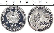 Изображение Монеты Армения 500 драм 2012 Серебро UNC- Ноев ковчег