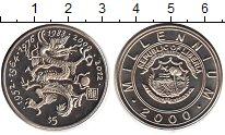 Изображение Мелочь Либерия 5 долларов 2000 Медно-никель UNC