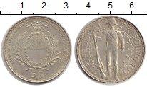 Изображение Монеты Швейцария 5 франков 1934 Серебро XF
