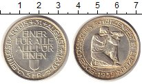 Изображение Монеты Швейцария 5 франков 1939 Серебро UNC- Стрелковый фестиваль