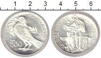 Изображение Монеты Ватикан 500 лир 0 Серебро UNC-